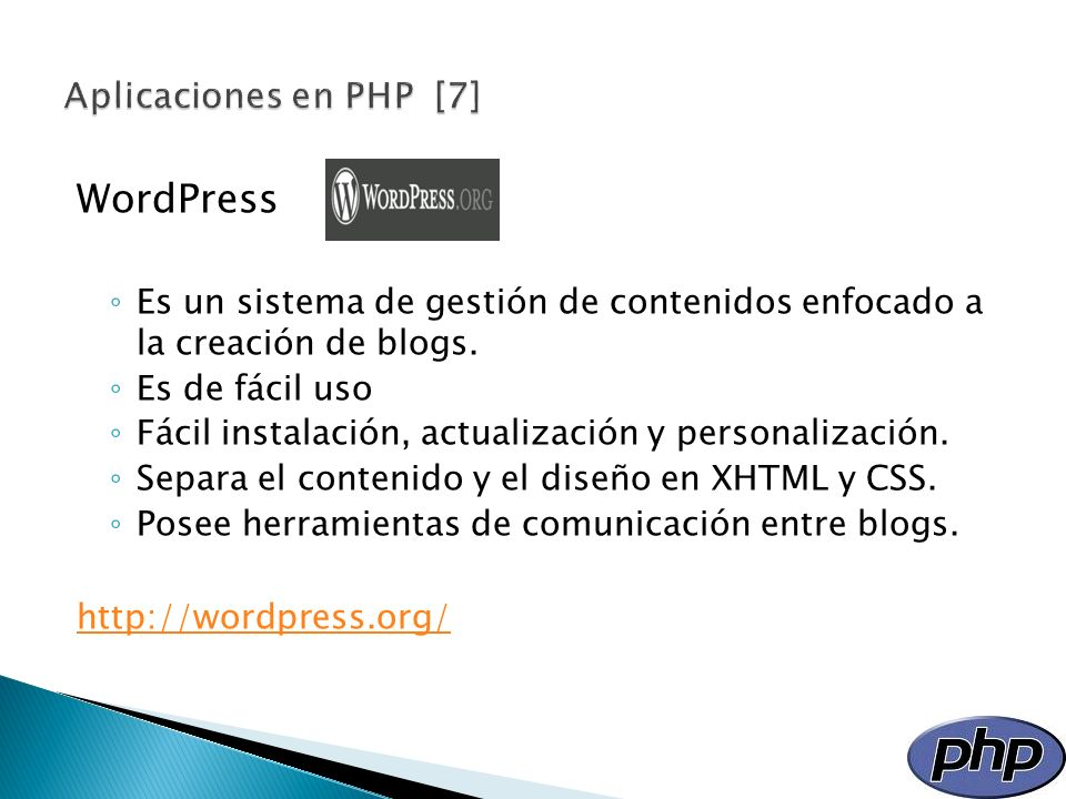 WordPress Aplicaciones en PHP [7]
